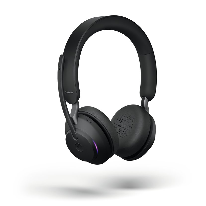 Jabra Evolve2 65 MS USB-A Headset Musta