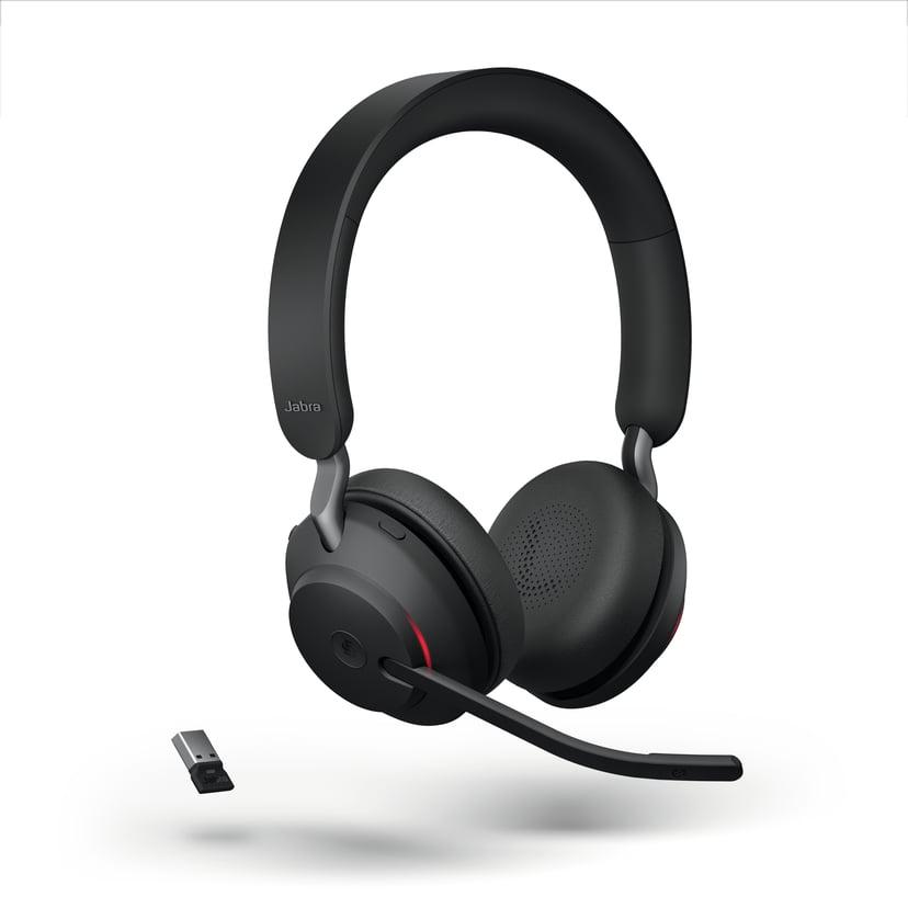 Jabra Evolve2 65 MS USB-A Headset Svart