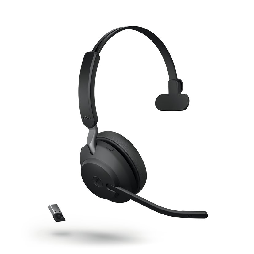 Jabra Evolve2 65 UC USB-A Svart