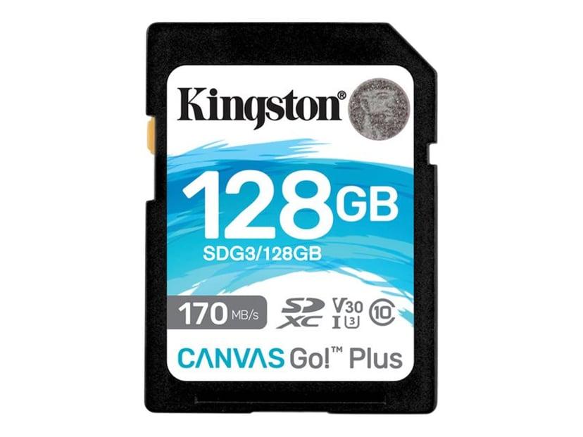Kingston Canvas Go! Plus 128GB SDXC UHS-I minneskort