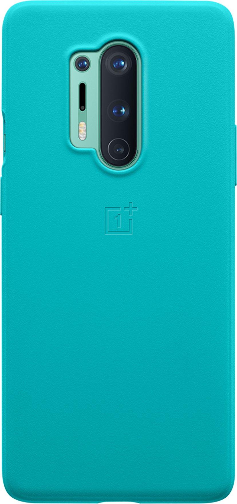 OnePlus Sandstone Bumper Case OnePlus 8 Pro Cyan