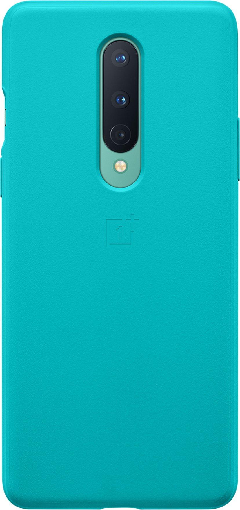 OnePlus Sandstone Bumper Case OnePlus 8 Cyan