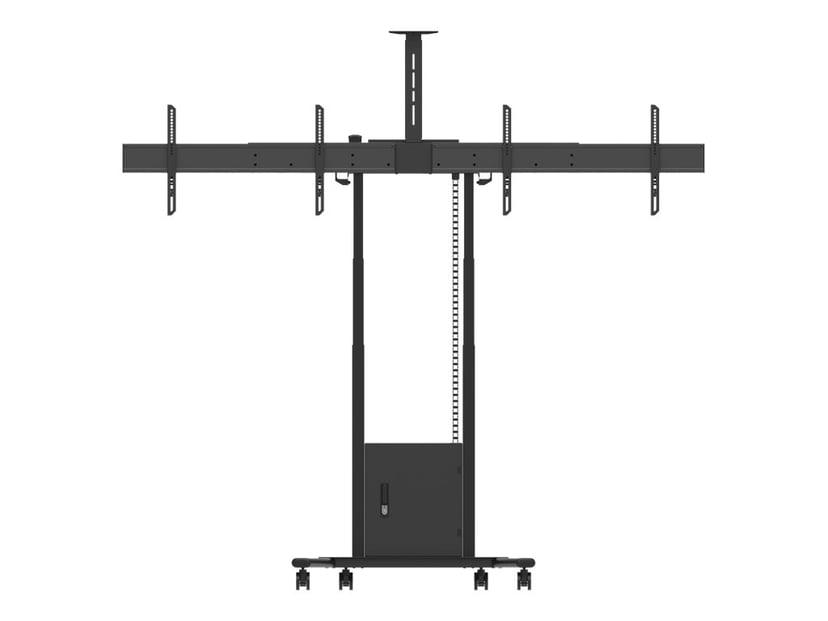 Multibrackets M Motorized Floorstand 2 LCD 120kg Svart