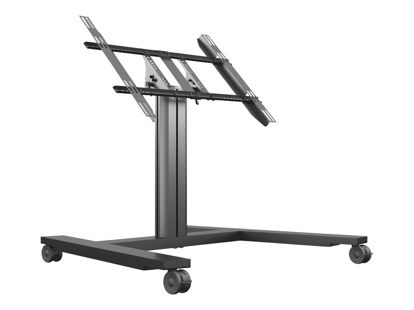 Multibrackets M Public Display Stand 80 HD Wheelbase Single Svart