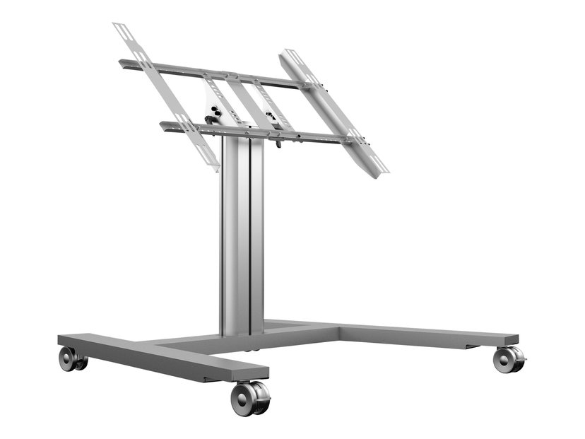Multibrackets M Public Display Stand 80 HD Wheelbase Single Silver