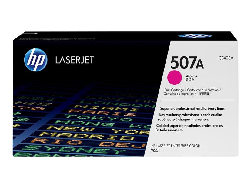 HP Toner Magenta 507A 6K - CE403A