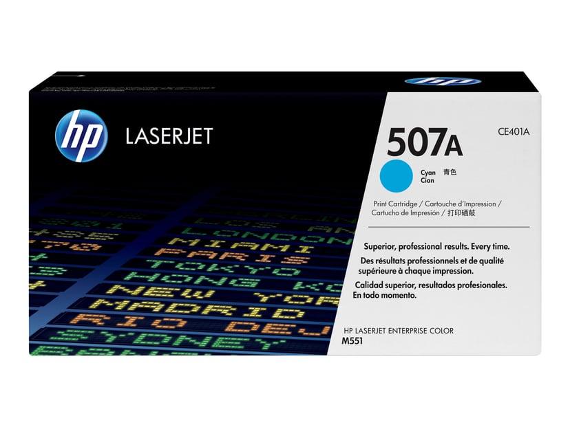 HP Toner Cyan 507A 6K - CE401A