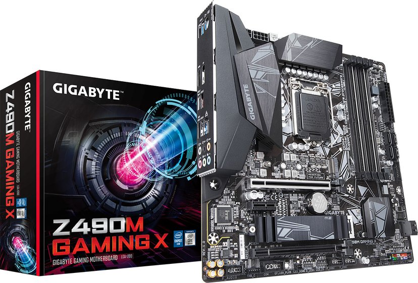 Gigabyte Z490M GAMING X Micro ATX