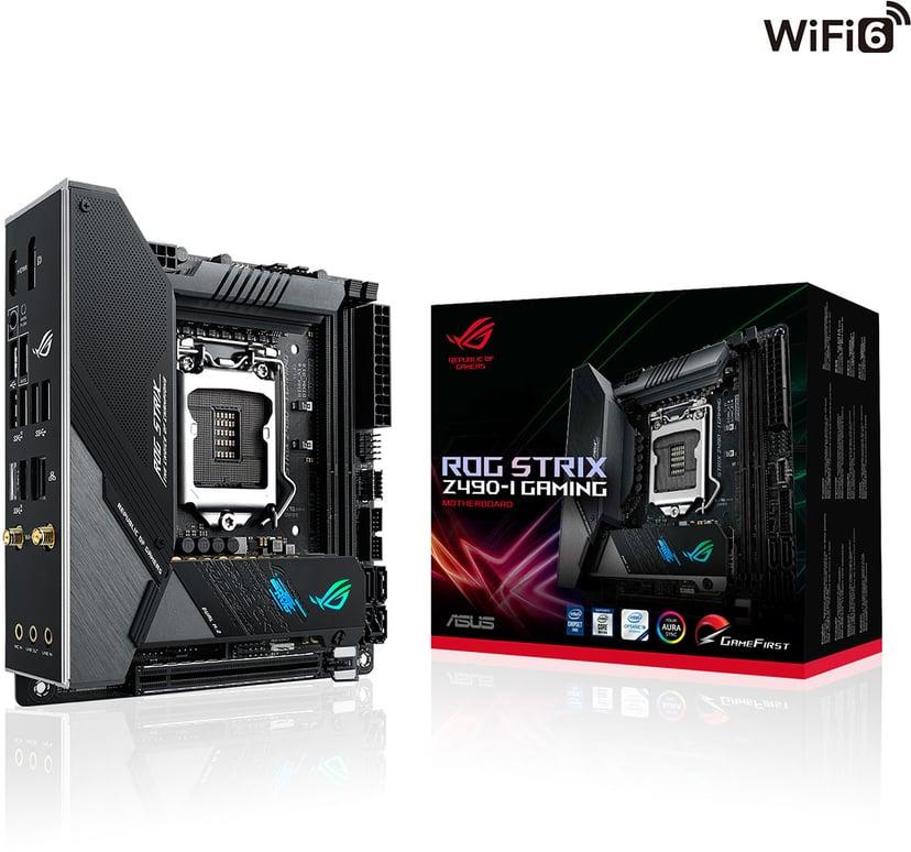ASUS ROG STRIX Z490-I GAMING (WI-FI) Mini-ITX Hovedkort