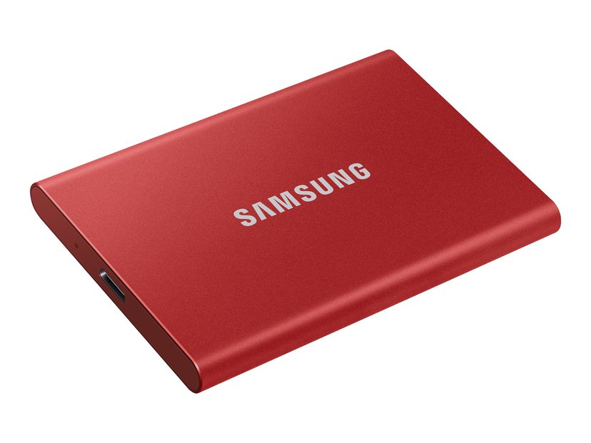Samsung Portable SSD T7 1TB Rød