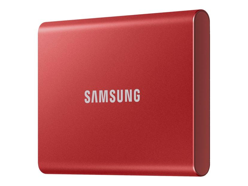 Samsung Portable SSD T7 2TB Rød