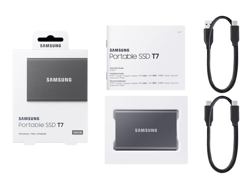 Samsung Portable SSD T7 0.5TB Grijs