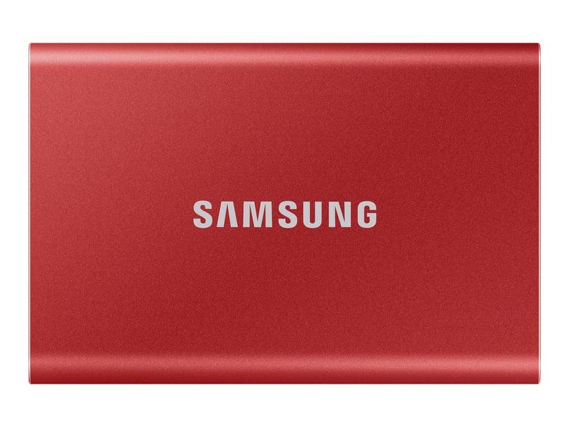 Samsung Portable SSD T7 0.5TB Rood
