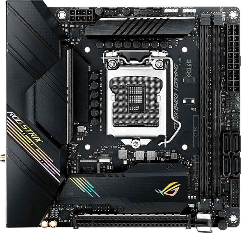 ASUS ROG STRIX B460-I GAMING Mini ITX Moderkort