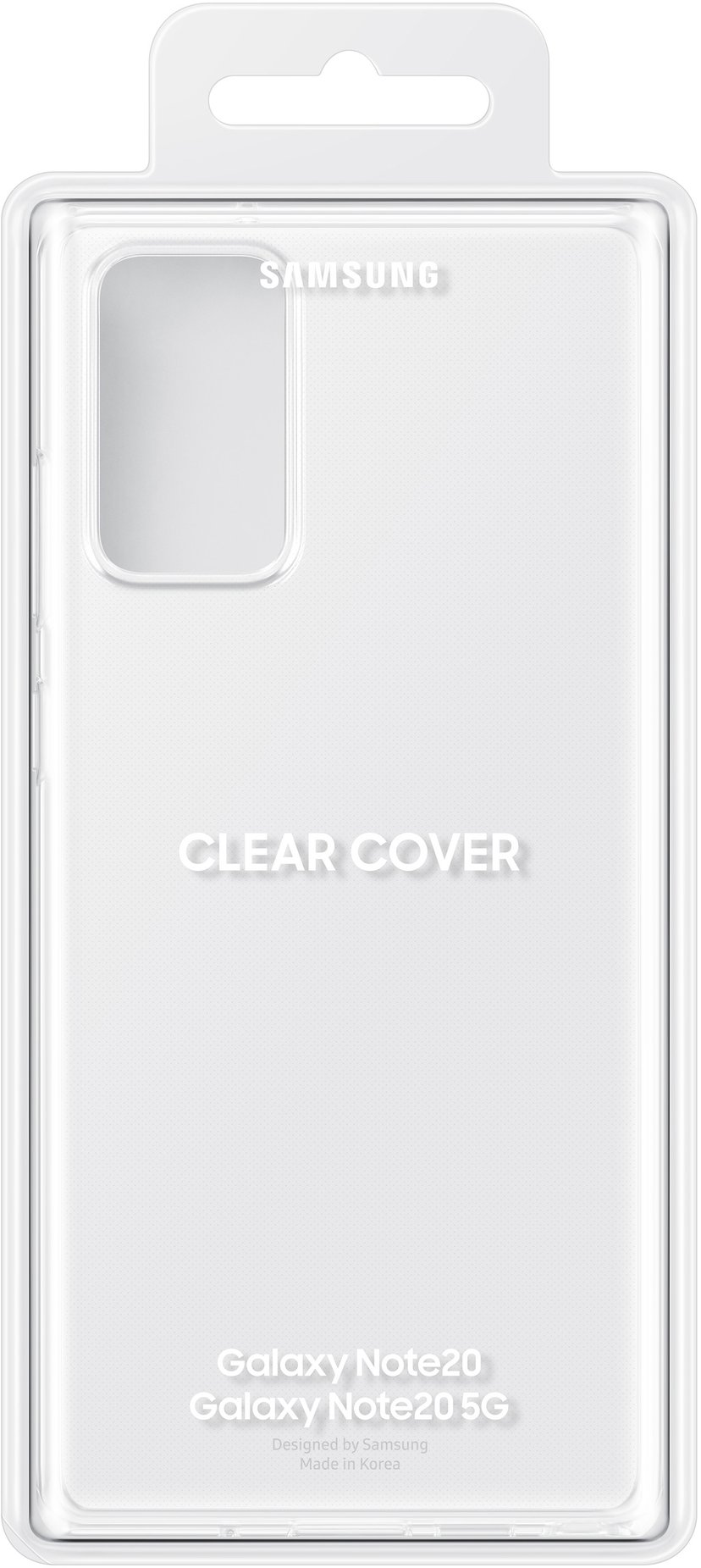Samsung Clear Cover EF-QN980 Samsung Galaxy Note 20 Transparent
