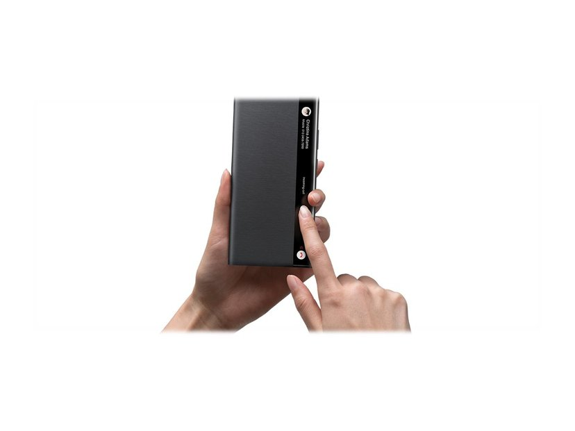 Samsung Smart Clear View Cover EF-ZN985 Samsung Galaxy Note 20 Ultra Mystic Black