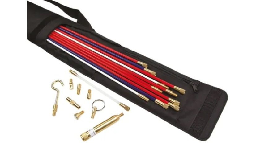 HellermannTyton Glass Fibre Reinforced Plastic Cable Rod Set