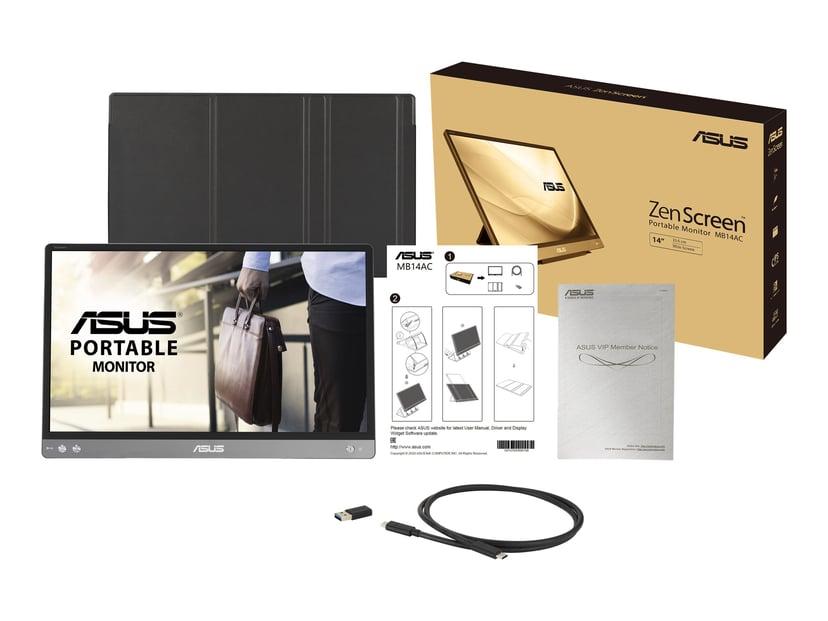 """ASUS ZenScreen MB14AC 14"""" Portable USB-C Monitor FHD IPS 16:9 14"""" 1920 x 1080 16:9"""
