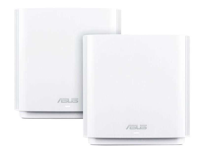 ASUS ZenWiFi AX (XT8) AV6600 2-pakk - Hvit