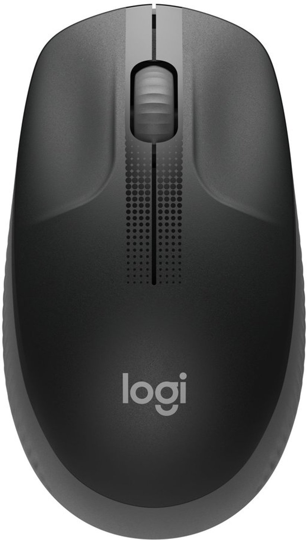 Logitech M190 Full-Size Wireless Mouse - Charcoal 1,000dpi Mus Trådløs Sort