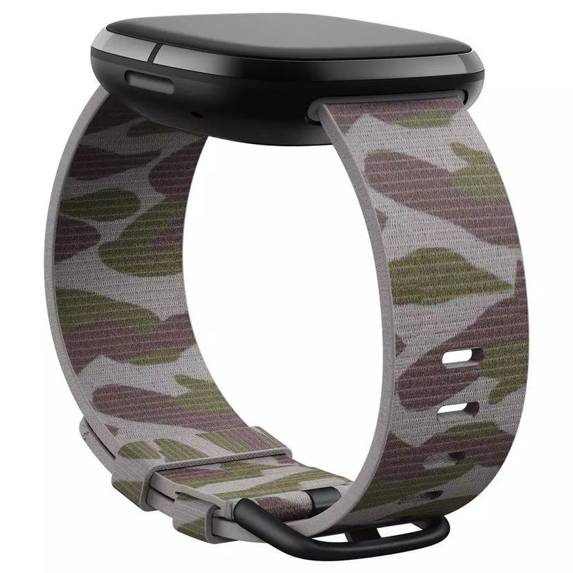 Fitbit Armband Large Vävt Camo - Versa 3/Sense