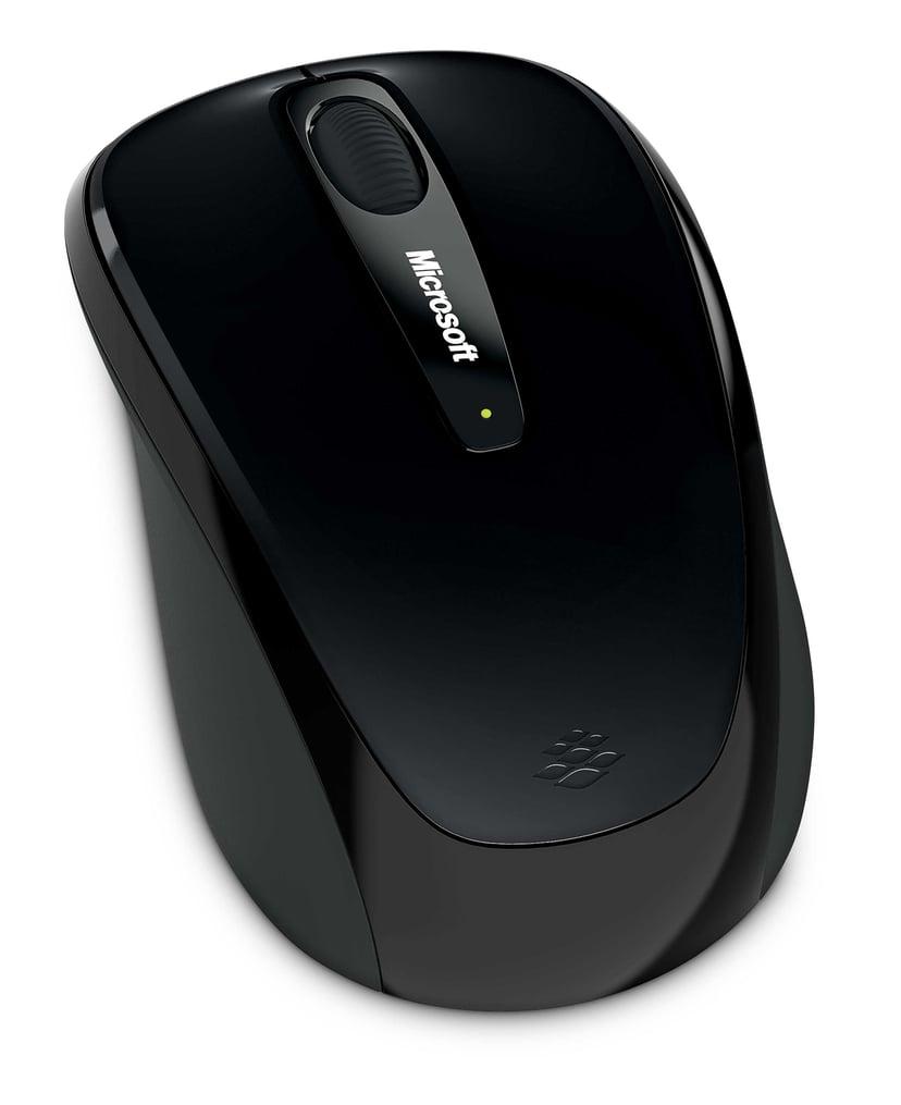 Microsoft Wireless Mobile 3500 1,000dpi Mus Trådlös Svart