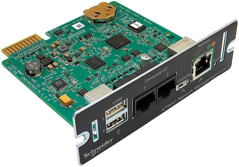 APC Network Management Card 3 med PowerChute & Miljöövervakning
