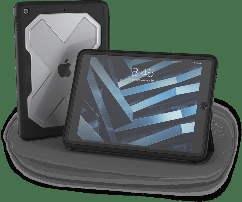 Zagg Rugged Messenger Case iPad 7th gen (2019), iPad 8th gen (2020) Koksgrå