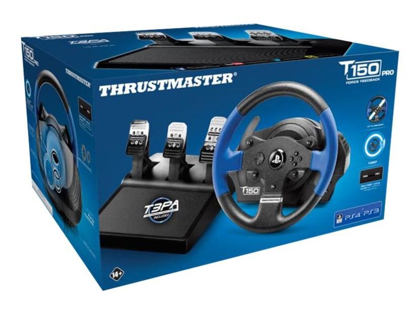 Thrustmaster T150 Pro Blå, Sort