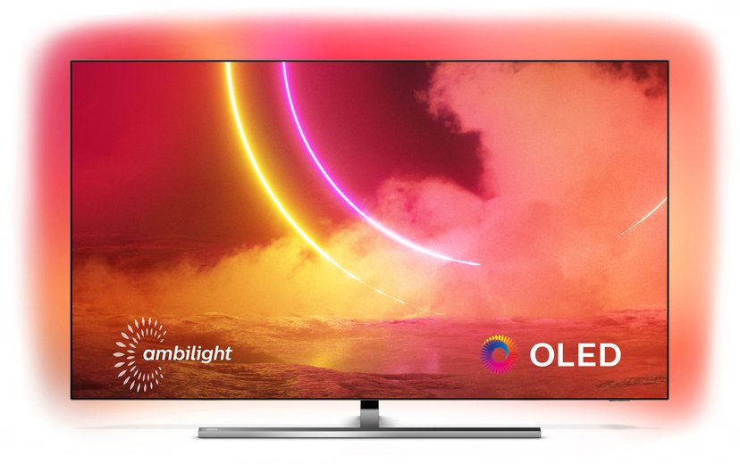 "Philips 55OLED855 55"" 4K OLED Smart Ambilight-TV (2020)"