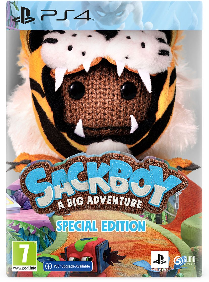 Sony Sackboy: A Big Adventure Special Edition - PS4