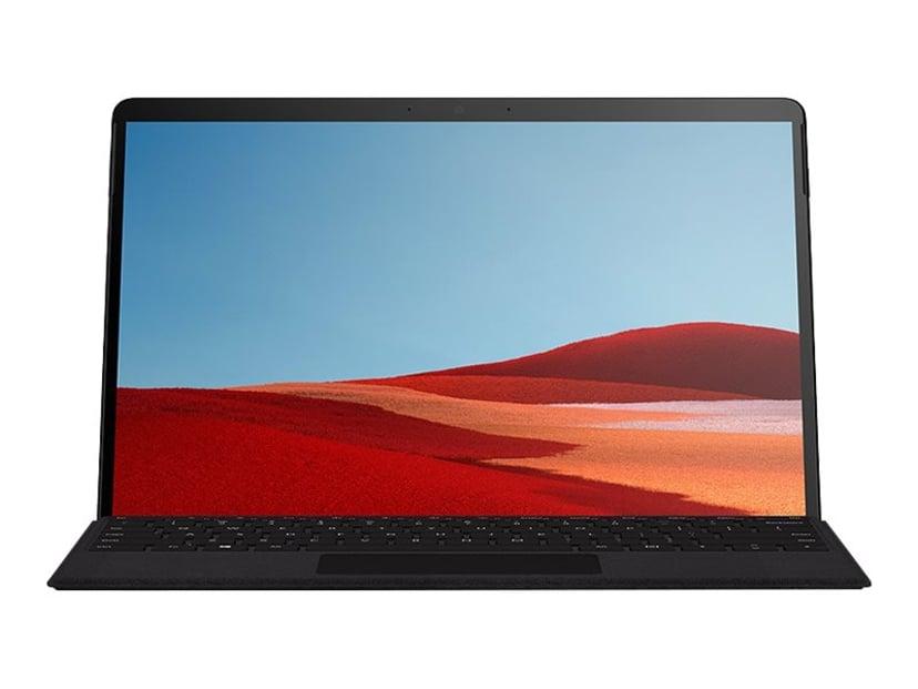 """Microsoft Surface Pro X yrityksille 13"""" SQ2 512GB 16GB Himmeä musta"""