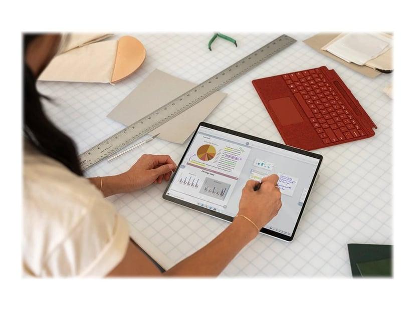 """Microsoft Surface Pro X för företag 13"""" SQ2 16GB 256GB Mattsvart"""