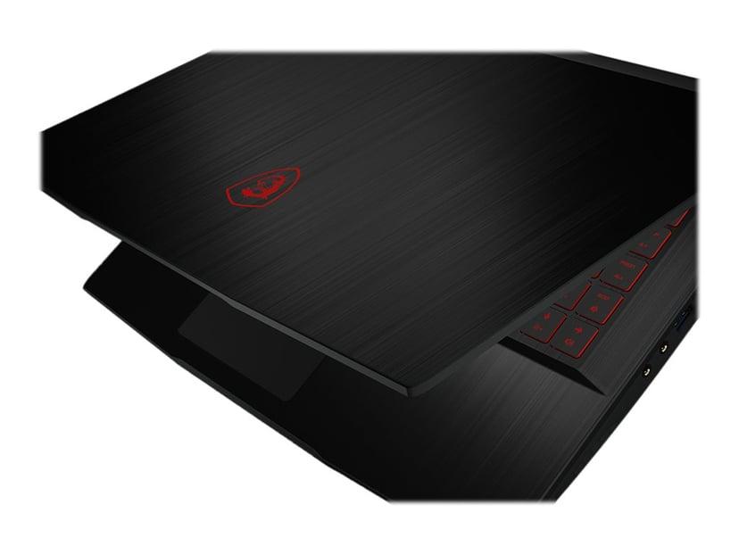 """MSI GF63 Thin Core i7 16GB 512GB SSD 144Hz 15.6"""" GTX 1650 Ti"""