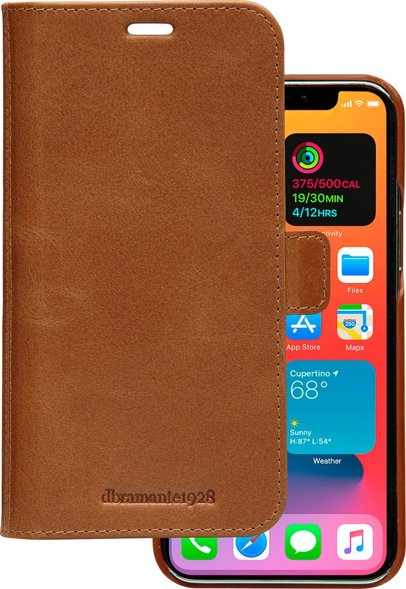 dbramante1928 Lynge iPhone 12; iPhone 12 Pro Barkbrun