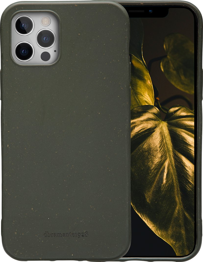 dbramante1928 Grenen iPhone 12 Pro Max Mørk olivengrønn