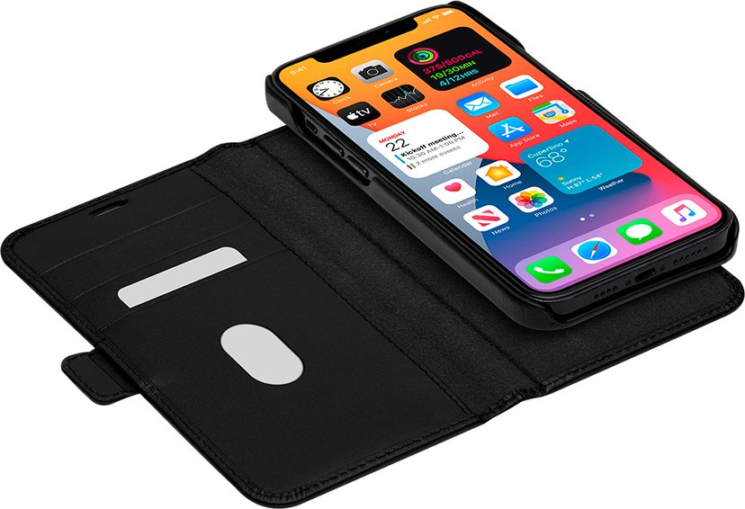 dbramante1928 Lynge Flipfutteral for Mobiltelefon iPhone 12 Pro Max Svart