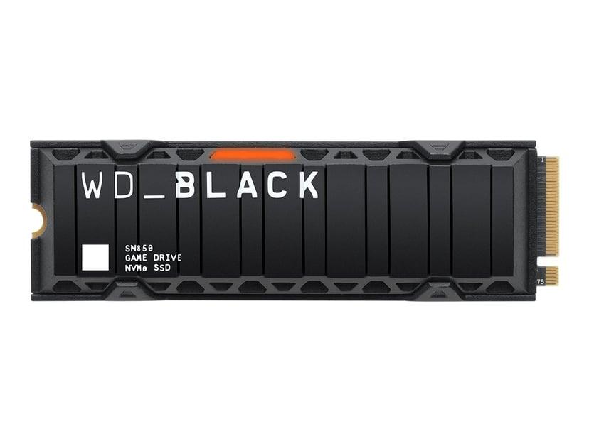 WD Black SN850 1,000GB M.2 2280 PCI Express 4.0 x4 (NVMe)
