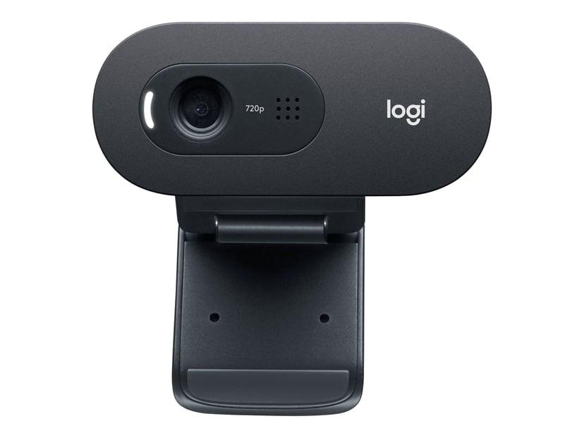 Logitech C505 HD 1280 x 720 Webcamera Zwart