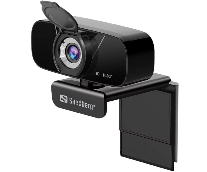 Sandberg USB Chat Webcam 1080P HD 1920 x 1080 Nettkamera Svart