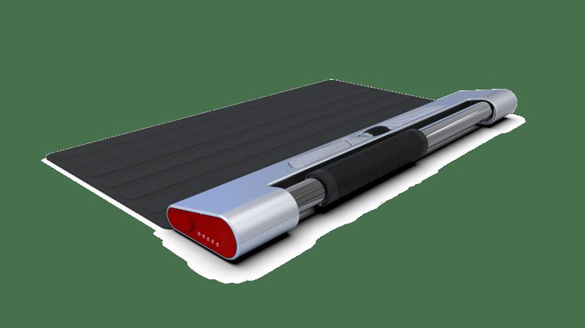 Contour Design Rollermouse Red Wireless & Red Mobile Kit Svart Trådlös 2,800dpi