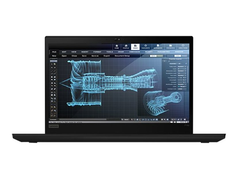 "Lenovo ThinkPad P14s Gen 1 20S4 Core i7 16GB 1000GB SSD WWAN-opgraderbar 14"""