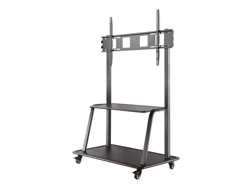 "Newstar Mobile Screen Floor Stand + Trolley Height 60-105"" Sort"