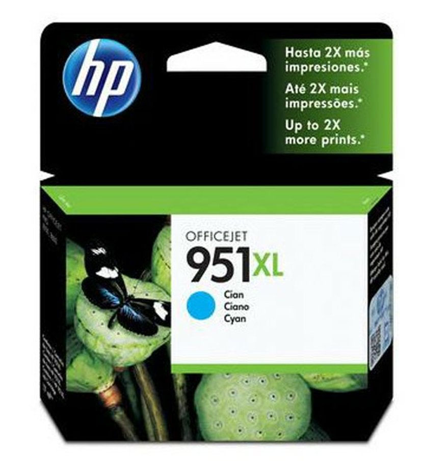 HP Bläck Cyan No.951XL - Pro 8100
