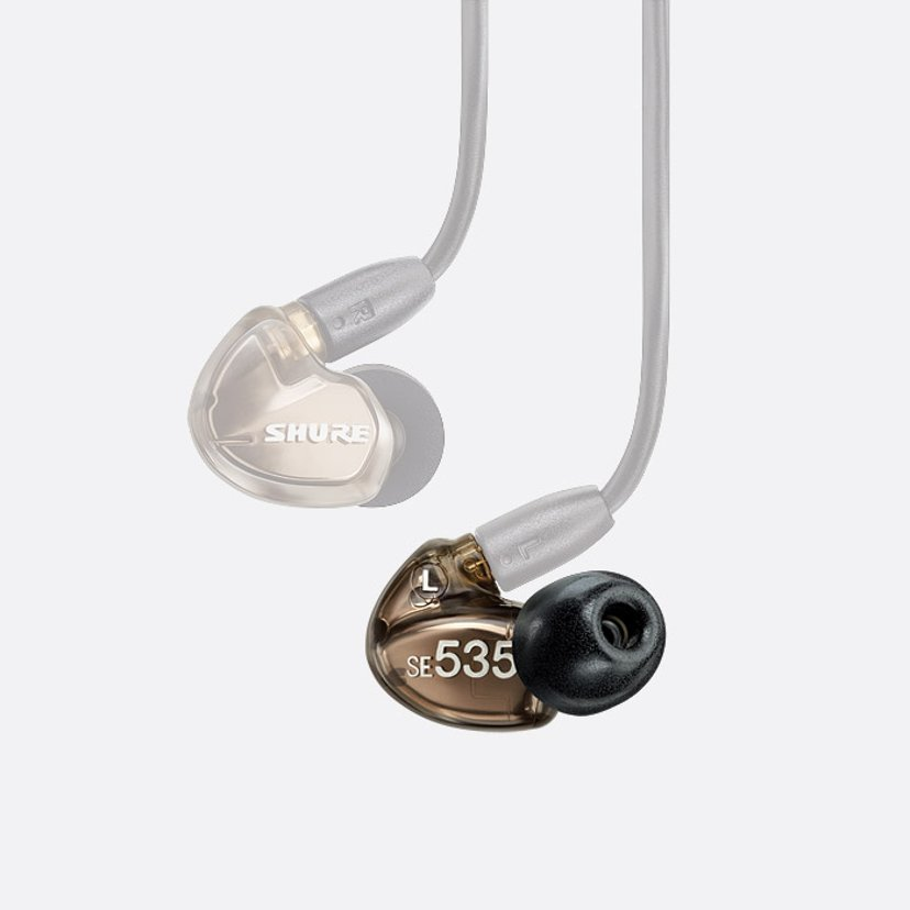 Shure SE535-V-Left Replacement Earphone Left - Bronze
