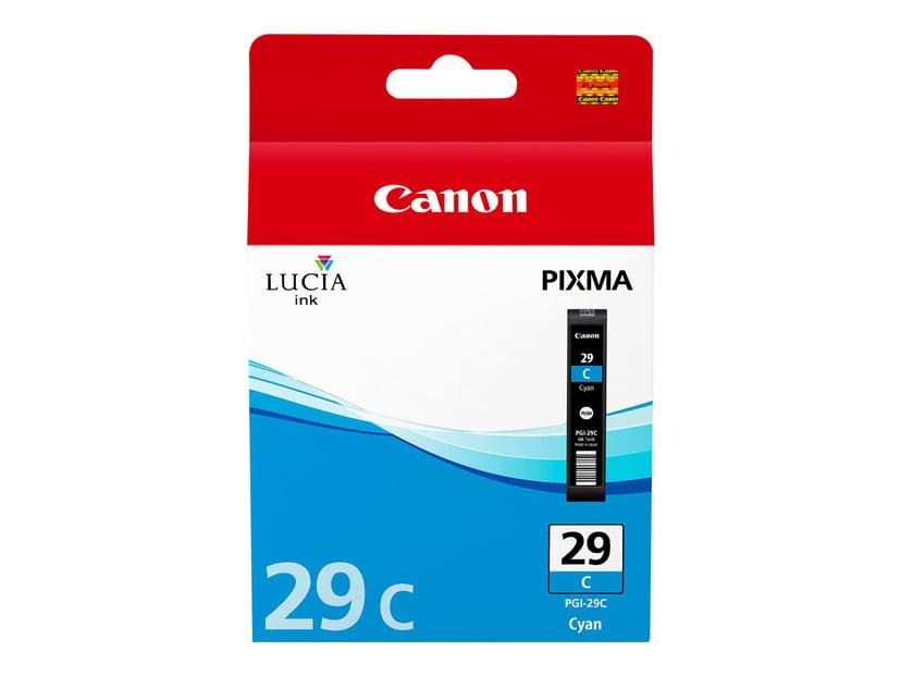 Canon Blekk Cyan PGI-29C - PRO-1