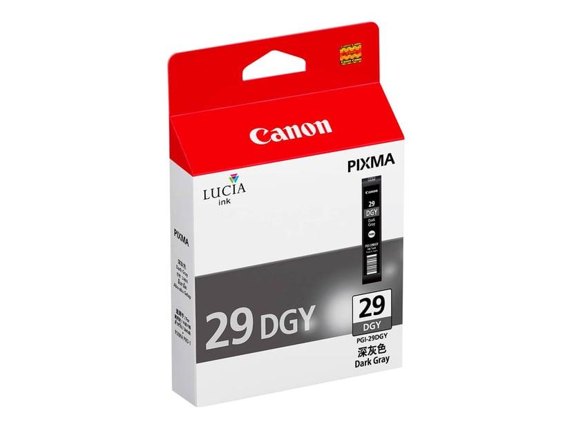 Canon Bläck Mörk Grå PGI-29DGY - PRO-1