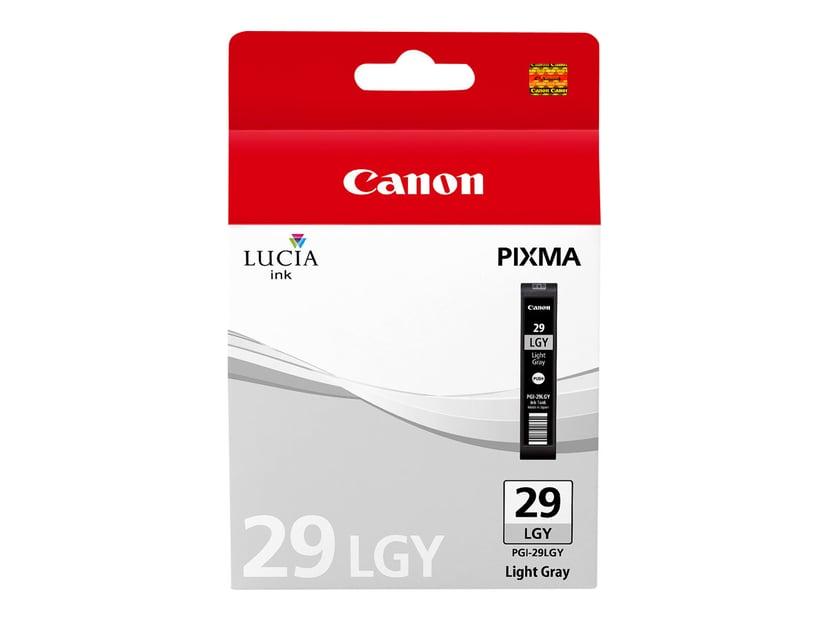 Canon Muste Kevyt Harmaa PGI-29LGY - PRO-1
