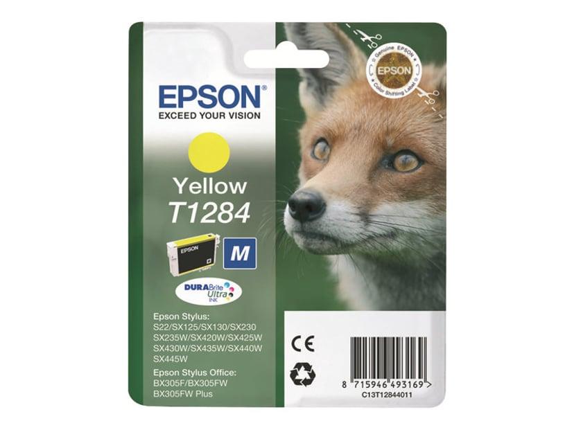 Epson Muste Keltainen T1284 - SX130