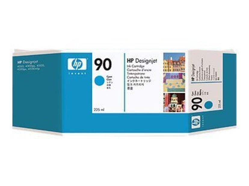 HP Blekk Cyan No.90 - DJ 4000 225 ML